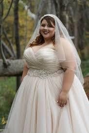 plus size bridal ana r a real bride in allure 2607 strut bridal salon