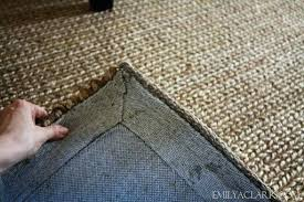 jute rugs with rubber backing natural area and kids a