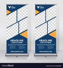 Free Creative Design Templates Creative Roll Up Banner Design Template