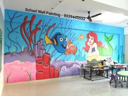 asian paint acrylic nursery school wall