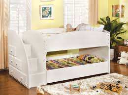 white bunk bed with stairs. Wonderful Bed BeddingDelightful White Loft Bed With Stairs 34 Bunk Trundle And  Delightful  On T