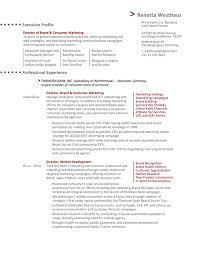 Sales And Marketing Resume Samples Impressive The Director Of Marketing Resume Example EssayMafia