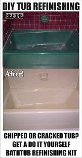 Cheap Bathroom Makeover Best Bathtub Refinishing Is A Cheap And Easy Diy Bathroom Makeover