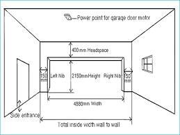 garage door rough opening peleefest standard garage door width
