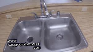 removing stains scratches marks from stainless steel sinks diy repair maintenance