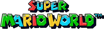 Super mario world Logos