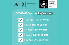 How to register for it! Hse Invites People Aged 65 69 To Register For Their Covid 19 Astrazeneca Vaccine Saolta University Health Care Group