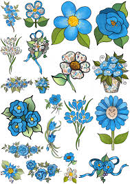 vintage flower sheets artbyjean vintage indian print collage sheet of flowers