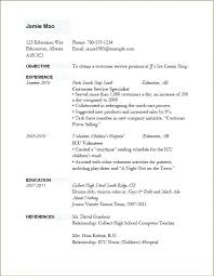 Simple Resume Sample For Job Job Resume Template Basic Resume ...