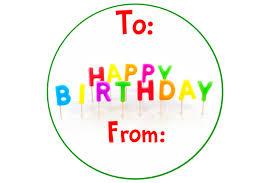 Birthday Tags Template Birthday Gift Tag Template 2 Elsik Blue Cetane