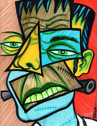 abstract drawing image result for frankenstein abstract drawing art for elementary