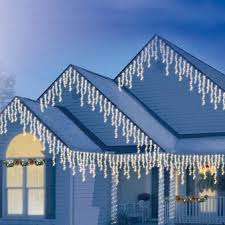 Christmas Lighting | Christmas Icicle Lights | High Density-Icicle ...
