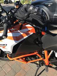 Mosko Moto Nomad Tank Bag On Ktm 1290 Super Adventure R Adventure Bike Bike Gear Ktm Adventure