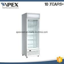 Stand Up Display Freezer China Vertical Single Glass Door Upright Display Freezer for Ice 71