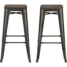 30 inch backless bar stools. Exellent Backless DHP Fusion 30 In 30 Inch Backless Bar Stools S