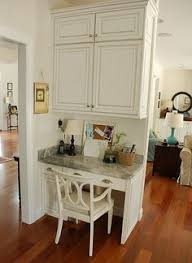 kitchen office nook. two carolina nesters organizing the kitchen office area nook r