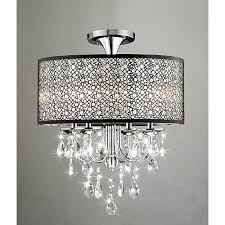 pictures gallery of amazing flush mount chandelier crystal mini chandelier flush mount light fixture