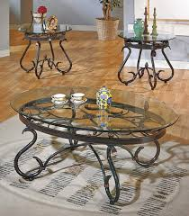 furniture steve silver coffee table awesome steve silver a 3 piece set coffee table 2
