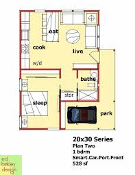 Best 25 20x30 house plans ideas on pinterest 1 bedroom house