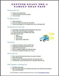Road Trip Checklist 10 Things To Do Before Your Next Car Trip