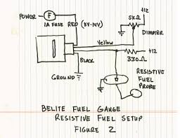 belite ultralight blog manual for new universal led fuel gauge resistive probe fuel tank wiring figure 2