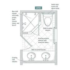 Bathroom Remodel Layout Interesting Interior Small Bathroom Plans The 48 Best Arch Interior Bathroom