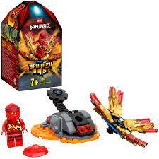 LEGO 70686 NINJAGO Kais Spinjitzu-Kreisel Set, rot: Amazon.de: Spielzeug