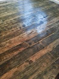 Floors Made From Pallets Barnwood And Bangles Reclaimed Wood Kitchen Floor