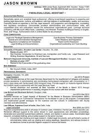 Paralegal Resume Stunning Sample Entry Level Paralegal Resume Kenicandlecomfortzone