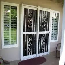 Burglar Bars For Sliding Glass Doors Fantastic Patio Door Security