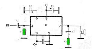 50w car audio lifier schematic circuits