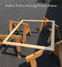 pocket hole jig frame