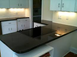 black concrete countertops ideas