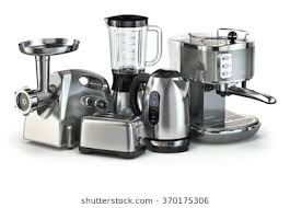 kitchen appliances images. Interesting Images Metallic Kitchen Appliances Blender Toaster Coffee Machine Meat Ginder  And Kettle Isolated For Kitchen Appliances Images Shutterstock