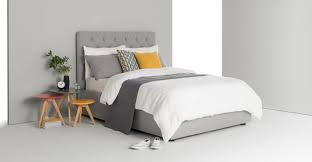 King Size Bedroom Skye King Size Bed With Storage Cool Grey Madecom