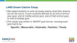Definition Of A Dream Catcher Oklahoma Gear Up Little Axe MS Dream Catcher Presentation 88