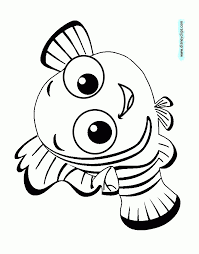 Nemo Coloring Pages Finding Nemo Coloring Pages Disney Coloring Book