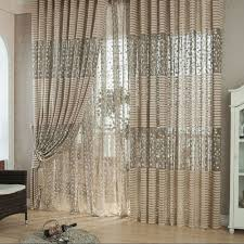 Sheer Curtains Living Room Jetting Buy Rose Voile Blackout Curtains Living Room Window