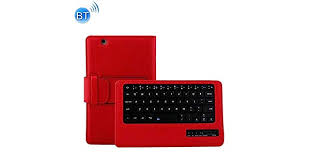 Detachable Plastic Bluetooth <b>Keyboard</b> + <b>Litchi</b> Texture PU Leather ...