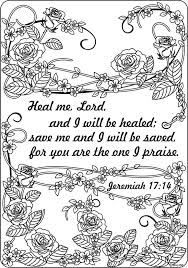 Printable Scripture Coloring Pages For Adults Color Bros