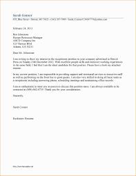 Cover Letter For Medical Receptionist Best Of Sample Resume Cover
