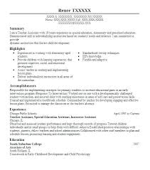 Teaching Assistant Resume Sample Teacher Assistant Resume Examples