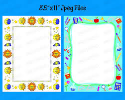 Kids Certificate Border School Kids Certificate Borders Clip Art 8x11 Kids Page