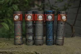 Đèn pin Emisar D4V2 Ti - Đèn công suất cao - Titan phiên bản đặc biệt - RAW  ORE 2 - BLF SHOP