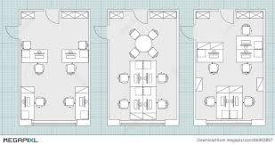 floor plan office furniture symbols. Standard Office Furniture Symbols On Floor Plans Plan