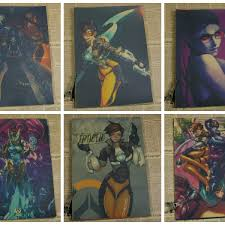 Presyo Ng Over Watch Poster2 Ow Peripheral Character Mural Anna