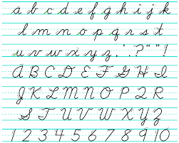 Capital And Lowercase Cursive Letters Chart File Cursive Svg Wikimedia Commons