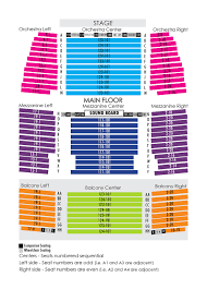Sweetwater Performance Pavilion Seating Chart House Seating Chart Niswonger Performing Arts Center