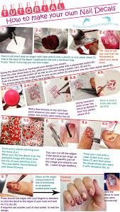 Indian Ocean Polish: How To Make Your Own Nail Decals Tutorial