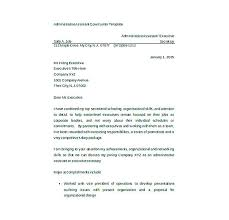 Cover Letter Word Templates Cover Letter Template Administrative ...
